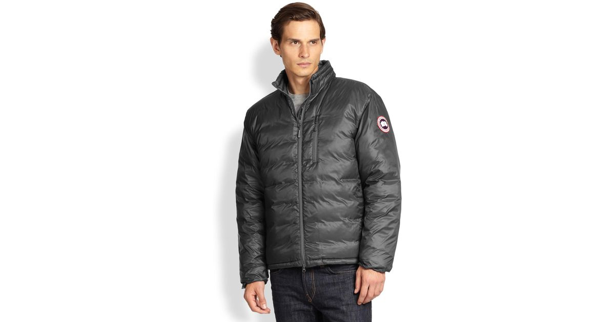Canada Goose victoria parka online cheap - Canada goose Lodge Down Jacket in Gray for Men (GRAPHITE) | Lyst