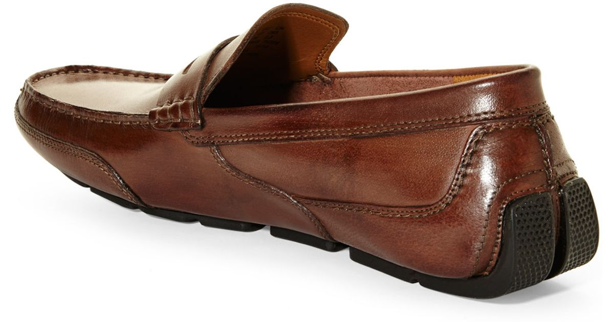 f3499c180b7 Lyst - Clarks Ashmont Way Penny Loafers in Brown for Men
