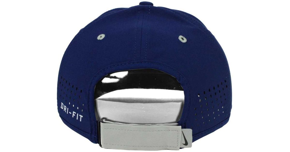 Lyst - Nike Georgetown Hoyas Ncaa Coaches Cap in Blue for Men 68c235bbb21