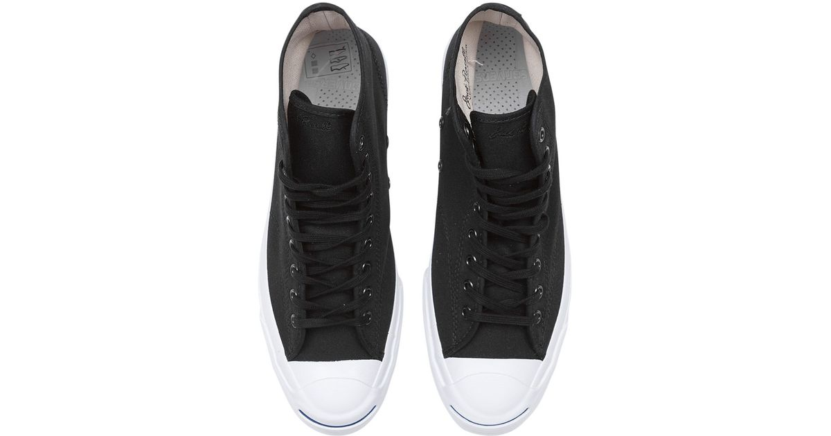 a5c6b52463011c Converse Jack Purcell Qs Signature High  duck Canvas Pack  Sneakers in Black  for Men - Lyst