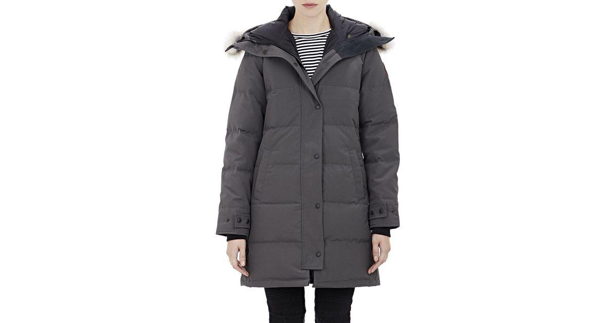 canada goose shelburne parka black fur
