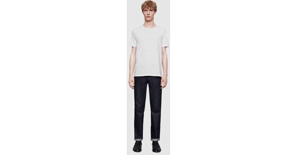 8fa22c0e0 Lyst - Gucci Cotton Jersey T-shirt in White for Men