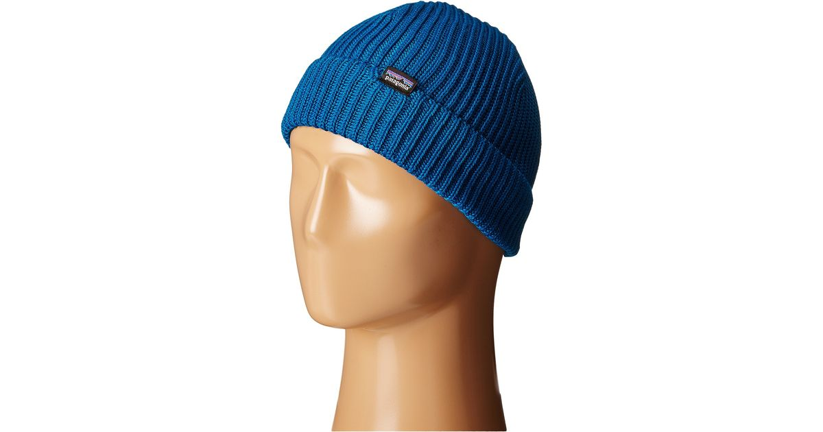 48af98c04ec35 Patagonia Fishermans Rolled Beanie in Blue for Men - Lyst