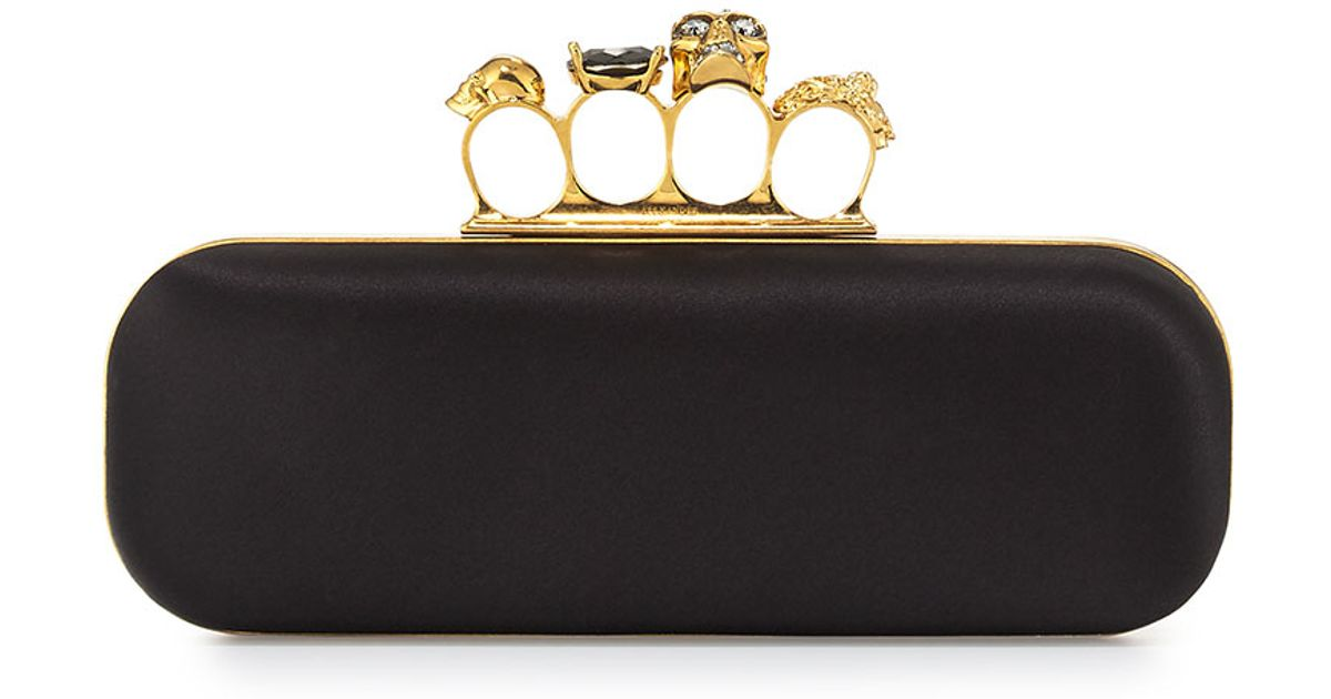 Alexander McQueen Knuckle Duster clutch bag Discount Factory Outlet Latest Collections Cheap Price Discount View uox6d