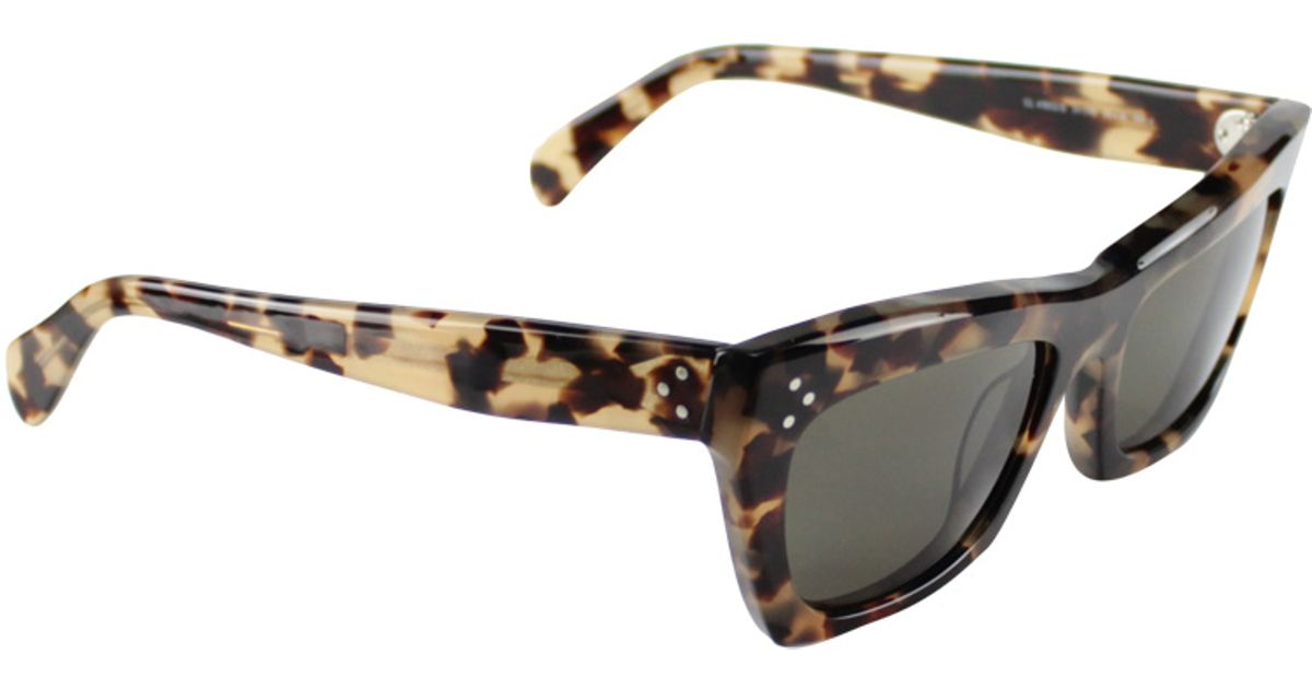 18906e595d34 Céline Retro Sunglasses in Brown - Lyst