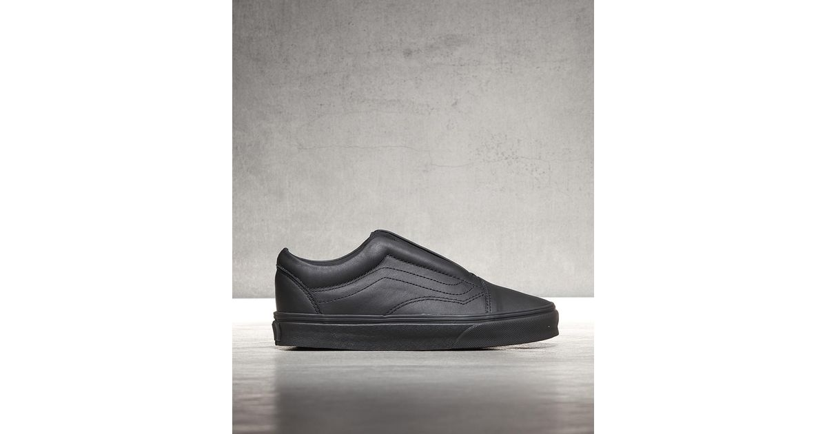 b7714340e90 Lyst - Vans Womens Old Skool Laceless Dx Trainer in Black