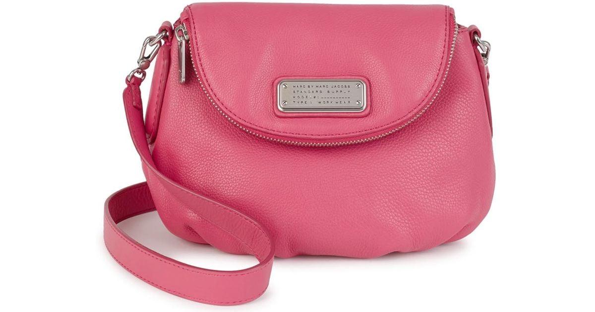 Marc Jacobs New Q Mini Natasha Pink Cross-body Bag in Pink - Lyst 26df478c59c91