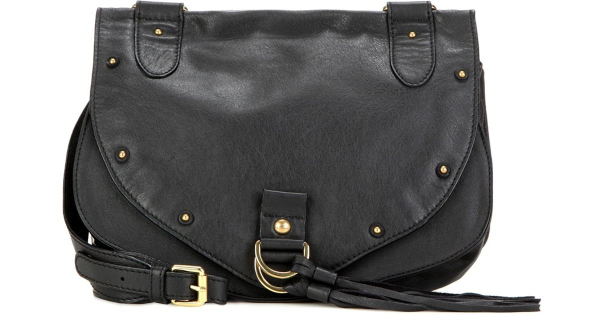 See by chlo�� Collins Medium Leather Shoulder Bag in Black | Lyst