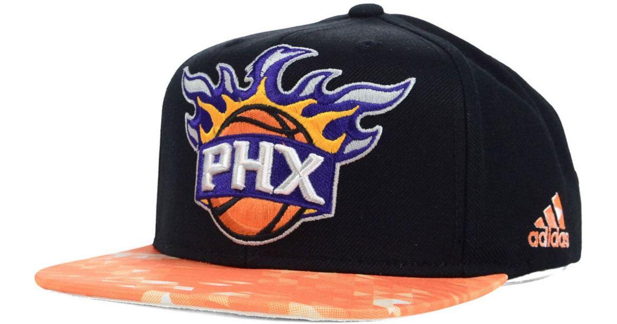 lowest price 8c0d7 da623 ... new zealand lyst adidas phoenix suns city pulse snapback cap in orange  for men 35d13 6d237
