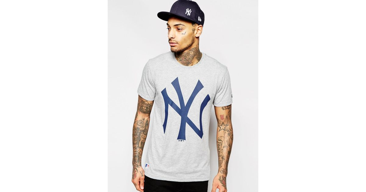 Lyst - KTZ Ny Yankees T-shirt in Blue for Men 58b7c146f5f