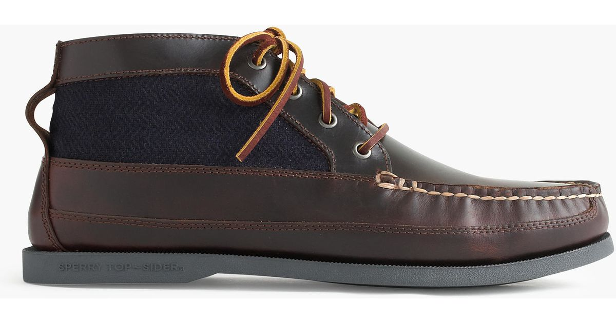 Awesome Sperry Stella Prow Chukka Boot In Brown | Womenu0026#39;s Boots STS96942
