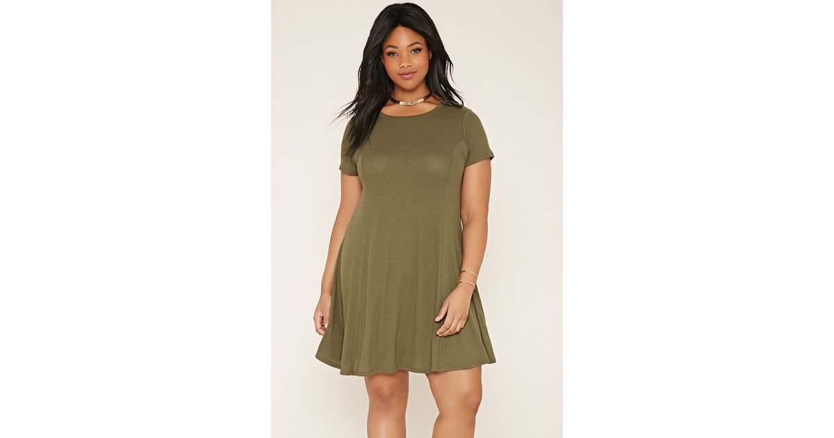Lyst Forever 21 Plus Size T Shirt Dress Youve Been Added To The