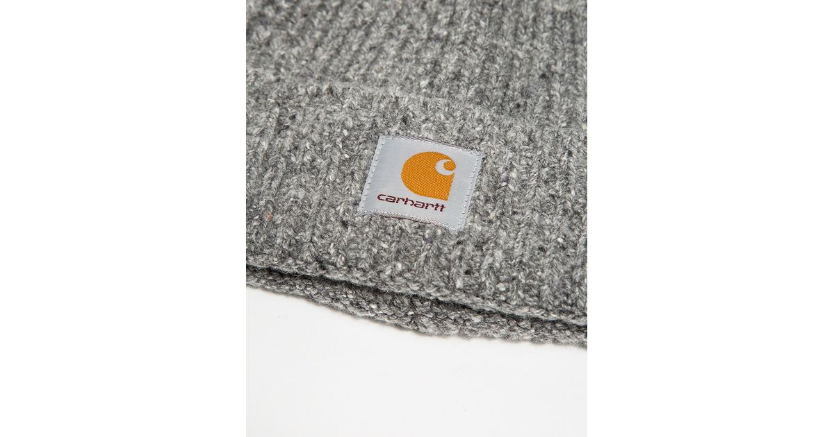 6ff55b8e Lyst - Carhartt WIP Anglistic Beanie in Gray for Men