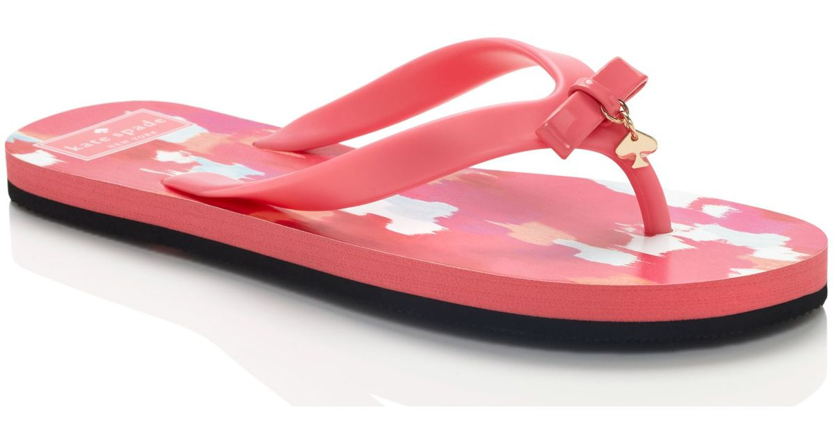 6ad9bc48115e Kate Spade Fifi Sandals in Pink - Lyst
