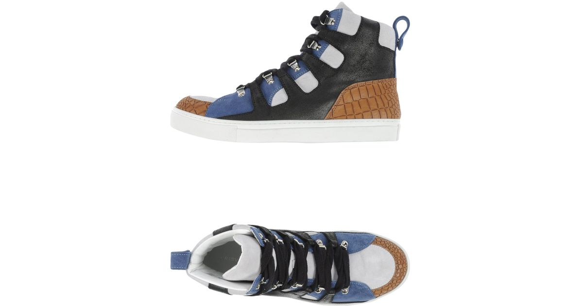 6519fd01a595da Lyst - Kris Van Assche High-tops   Trainers in Blue for Men