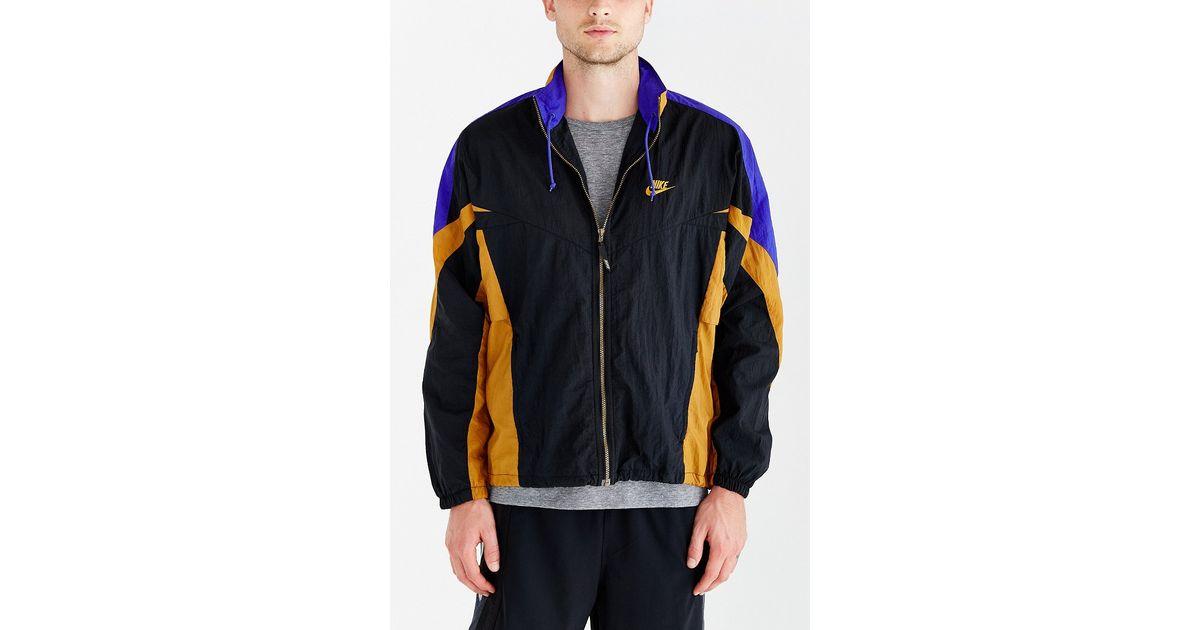 322c22ef8e1d Lyst - Without Walls Vintage Nike Bronze Stripe Windbreaker Jacket in  Orange for Men