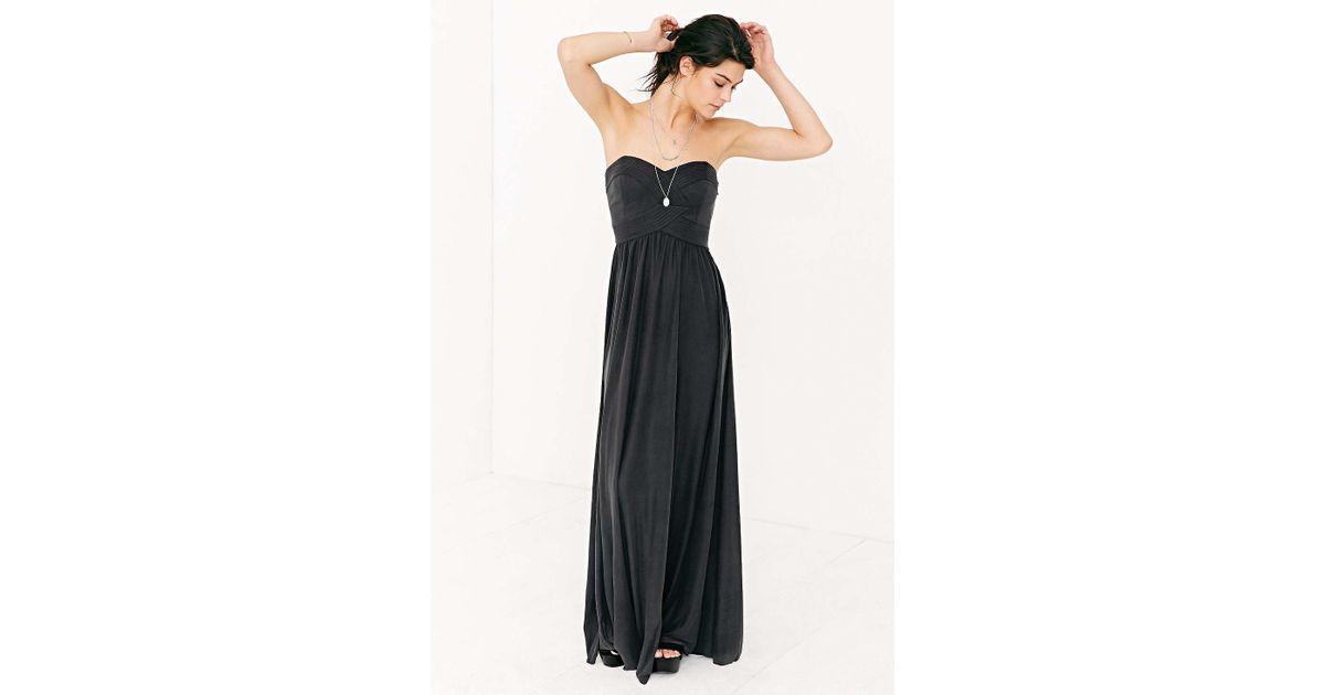 b1f33e5504985 Kimchi Blue Gretchen Strap Dress in Black - Lyst