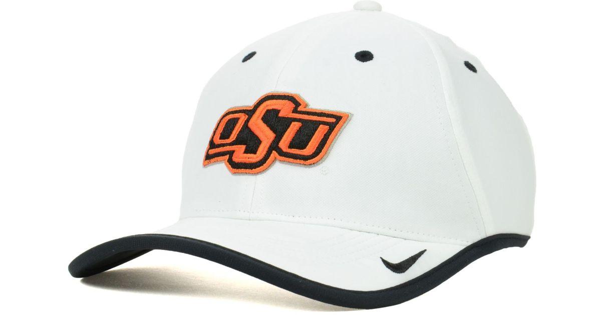 Lyst - Nike Oklahoma State Cowboys Ncaa Coaches Cap in White for Men 092034e32fa