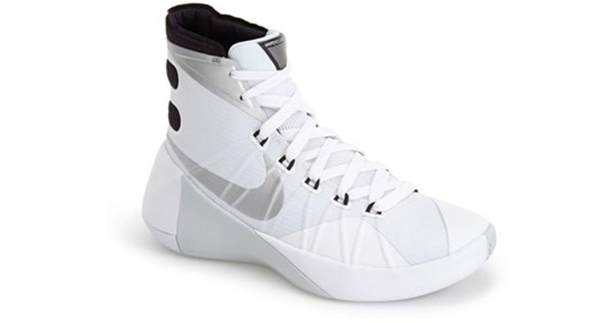 Lyst - Nike  Hyperdunk 2015  Basketball Shoe in White a4aa28224717