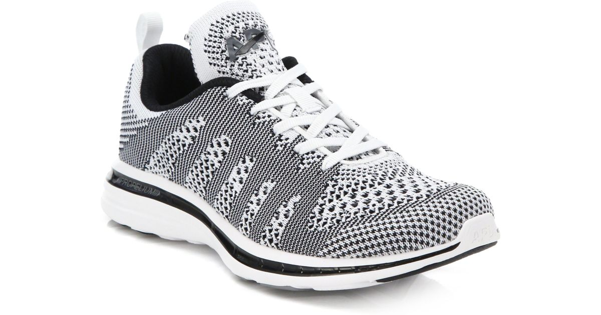 a479b5ded Athletic Propulsion Labs Techloom Pro Woven Low-Top Sneakers in Gray - Lyst