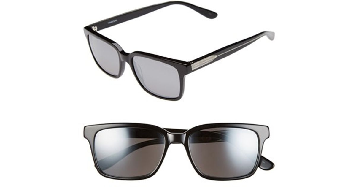 a1af29585f Lyst - Randolph Engineering  milton  54mm Sunglasses in Black for Men