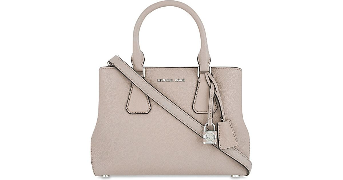 d99dae1bf087 ... shoulder swingpack cross body bag 17557 ce813; aliexpress michael  michael kors camille small leather satchel in gray lyst 1d661 f4896