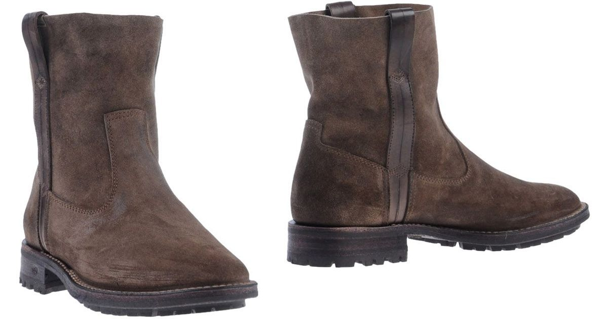 ndc ankle boots in grey lyst