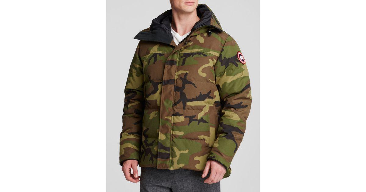Canada Goose victoria parka sale shop - Canada goose Macmillan Camouflage-Print Parka Jacket in Green for ...