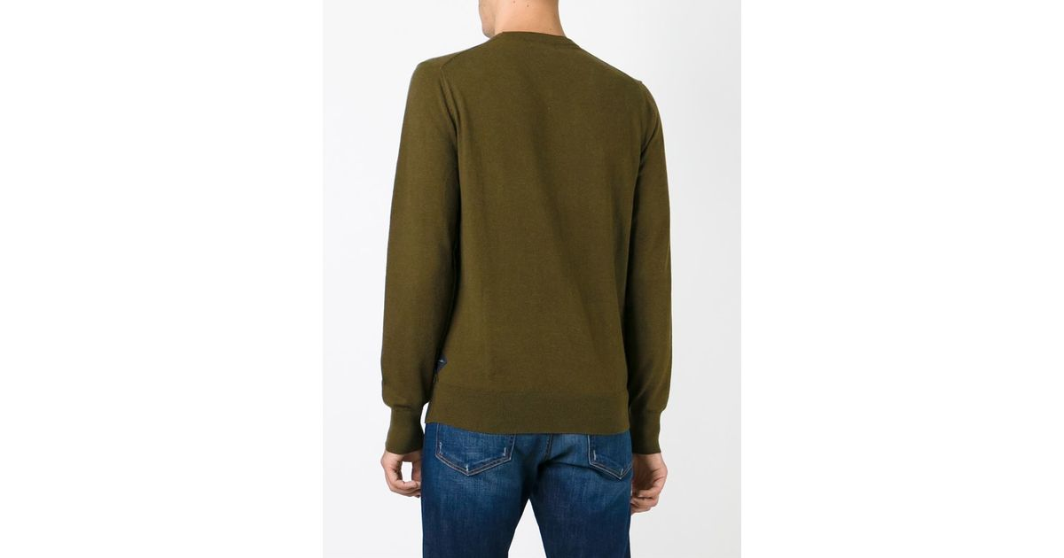 Green Crewneck Sweatshirt Paul Smith Sast Cheap Price Big Sale Sale Online Official Site Online Buy Cheap Online n6L6OUu