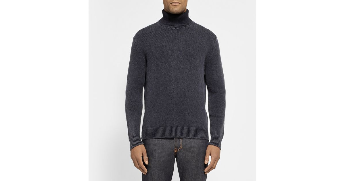 Rollneck Alba Sweater Massimo Teal Cashmere xfCdSInw