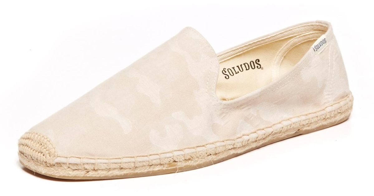 ac119ea4c8456 Lyst - Soludos Smoking Slipper Prints in Natural for Men