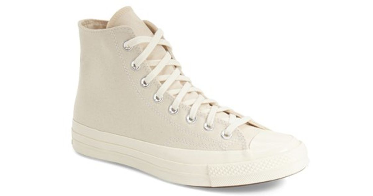 20dd14f48824 Lyst - Converse Chuck Taylor All Star  70 High Sneaker in Natural for Men
