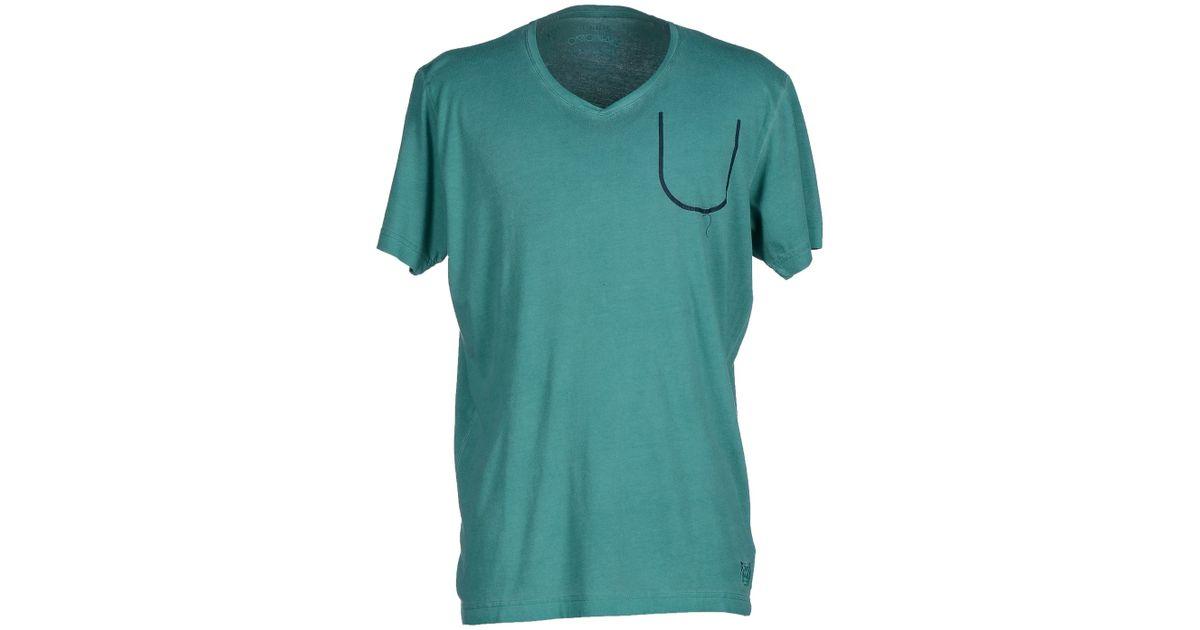 originals by jack jones t shirt in green for men lyst. Black Bedroom Furniture Sets. Home Design Ideas