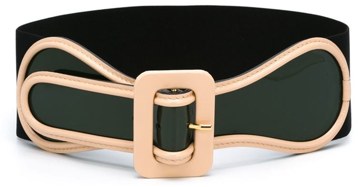 marni wide belt in green save 55 lyst