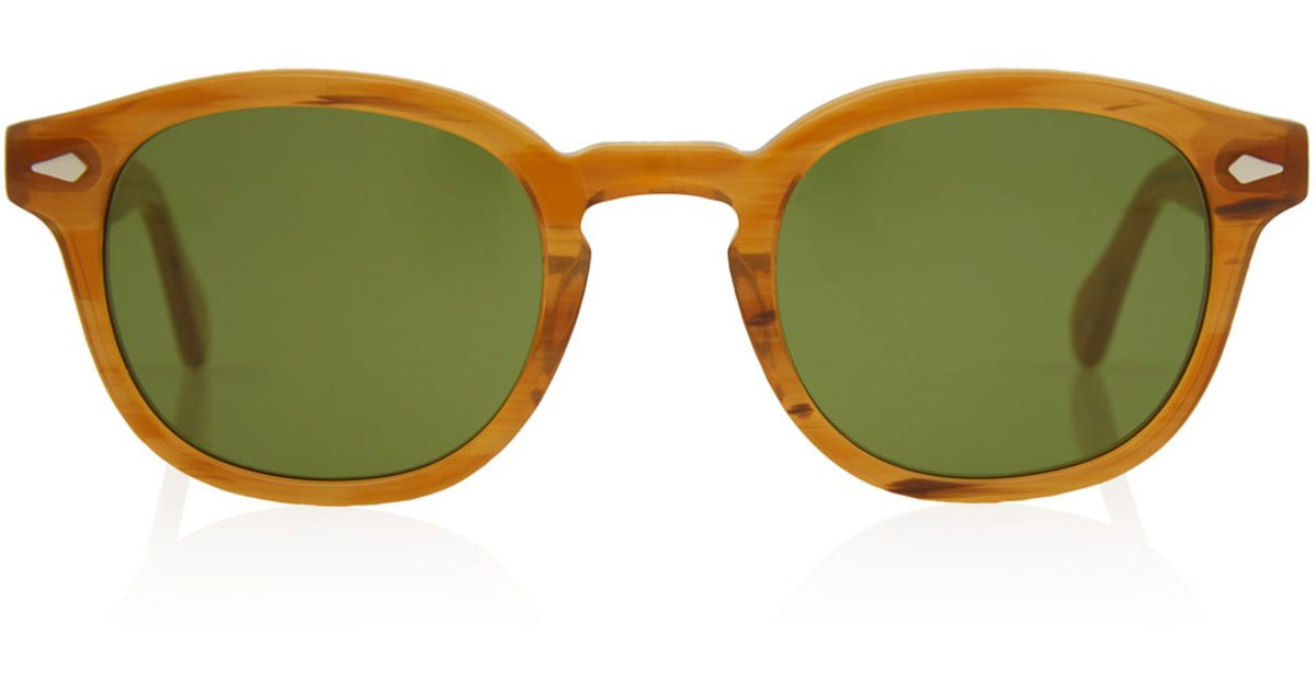 6962bbd8f01 MOSCOT  sunglasses online - Lemtosh blue lens blonde sunglasses
