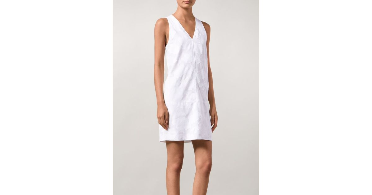 Lyst rag bone augusta floral applique dress in white