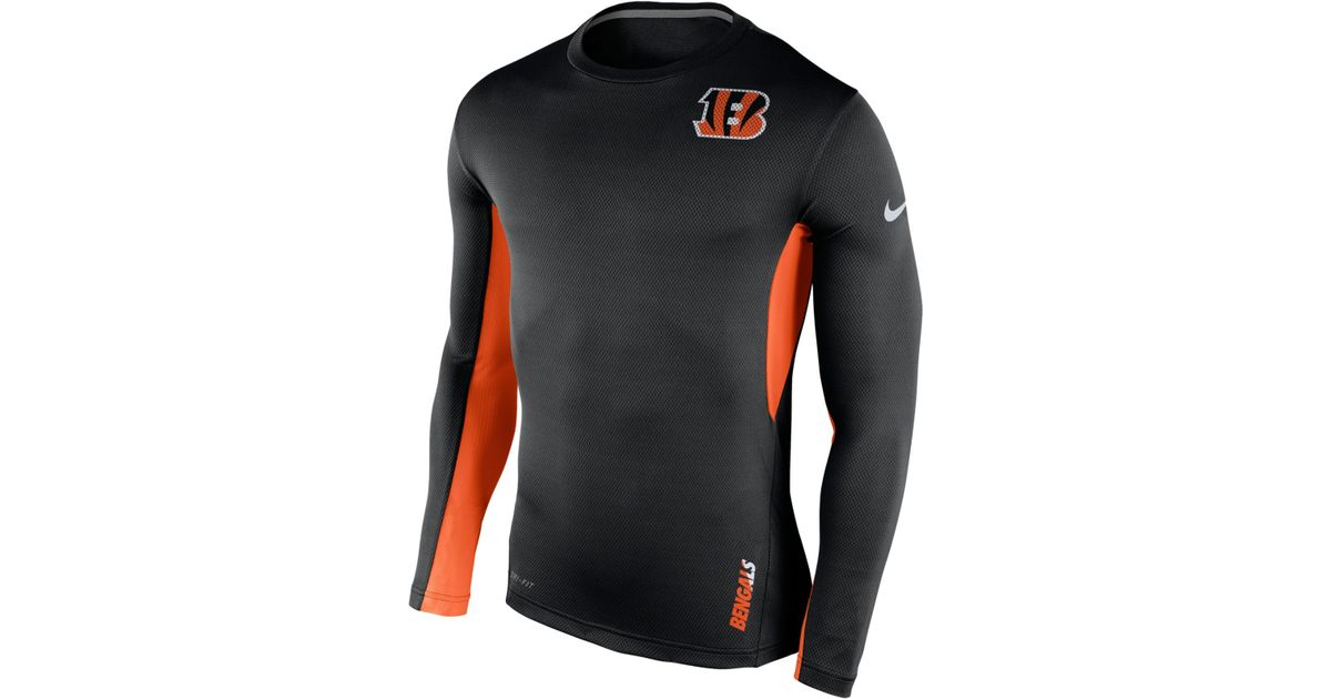 Lyst - Nike Men s Long-sleeve Cincinnati Bengals Vapor T-shirt in Black for  Men 5d1866814