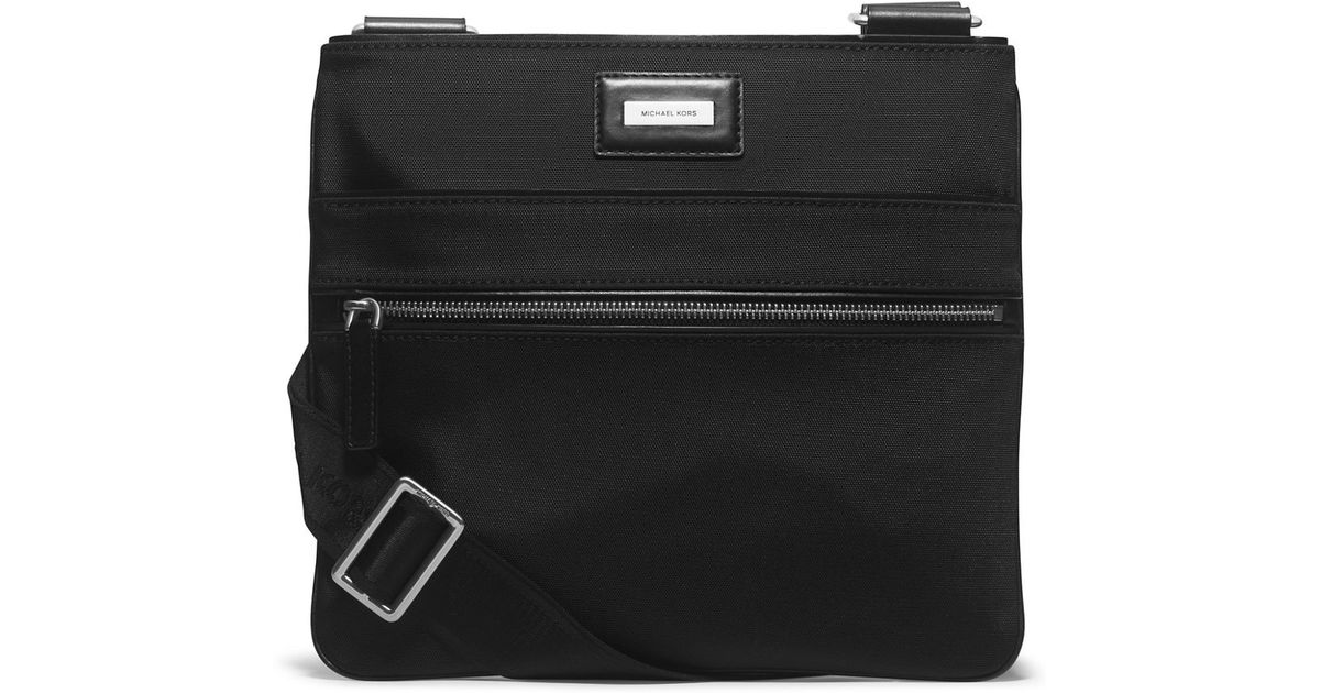 bb74b47674af1 Lyst - Michael Kors Windsor Nylon Small Crossbody Bag in Black for Men