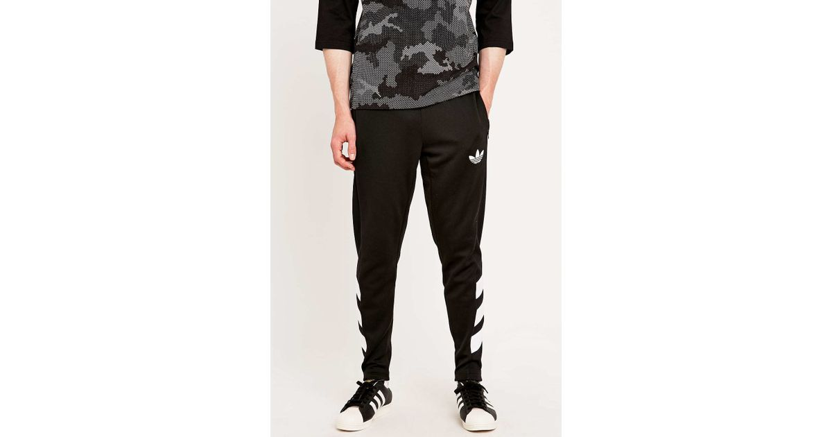 0d2f2c0fdb9c adidas Originals Trefoil Tracksuit Bottoms In Black in Black for Men - Lyst