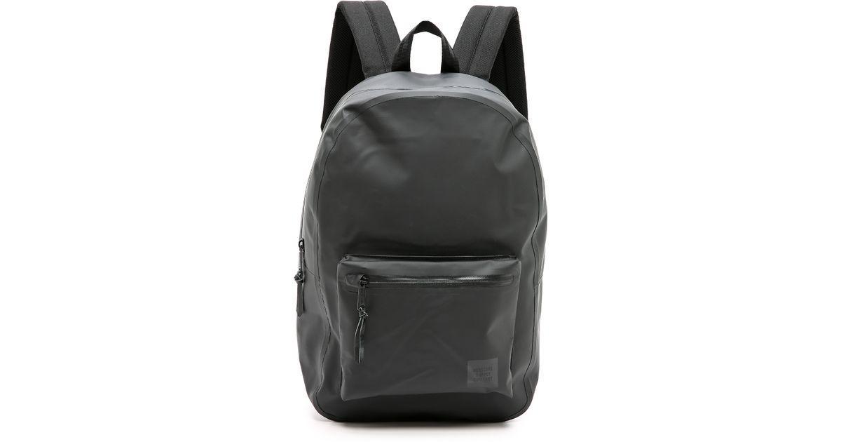 Lyst - Herschel Supply Co. Studio Settlement Backpack in Black for Men f9e6fb1716c2c