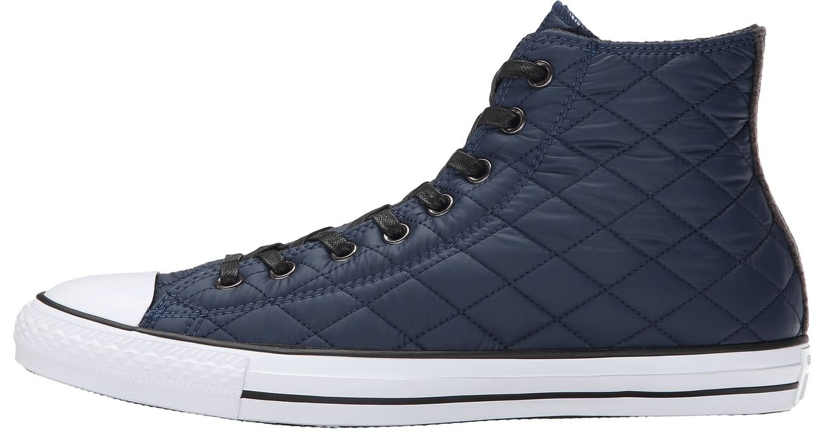 7fd6906ce94a Lyst - Converse Chuck Taylor® All Star® Quilted Hi in Blue for Men