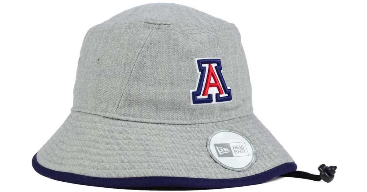 promo code 30a97 96e12 ... authentic lyst ktz arizona wildcats tip bucket hat in gray for men  f49a1 69124