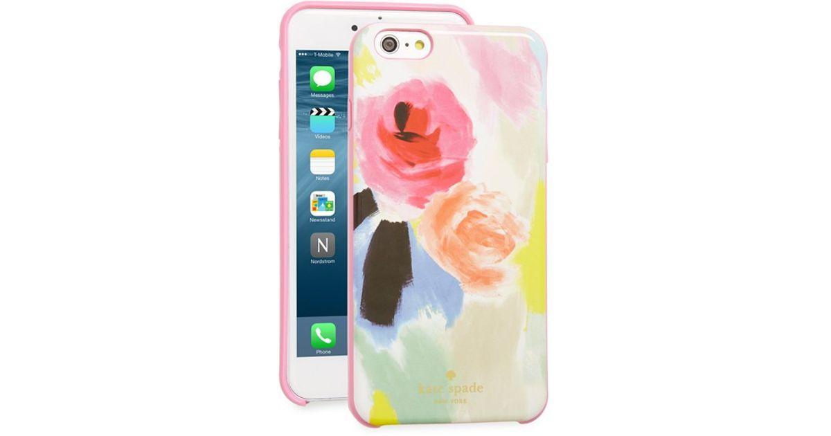 Kate spade u0026#39;watercolor Floralu0026#39; Iphone 6 Plus u0026 6s Plus Case in Pink ...