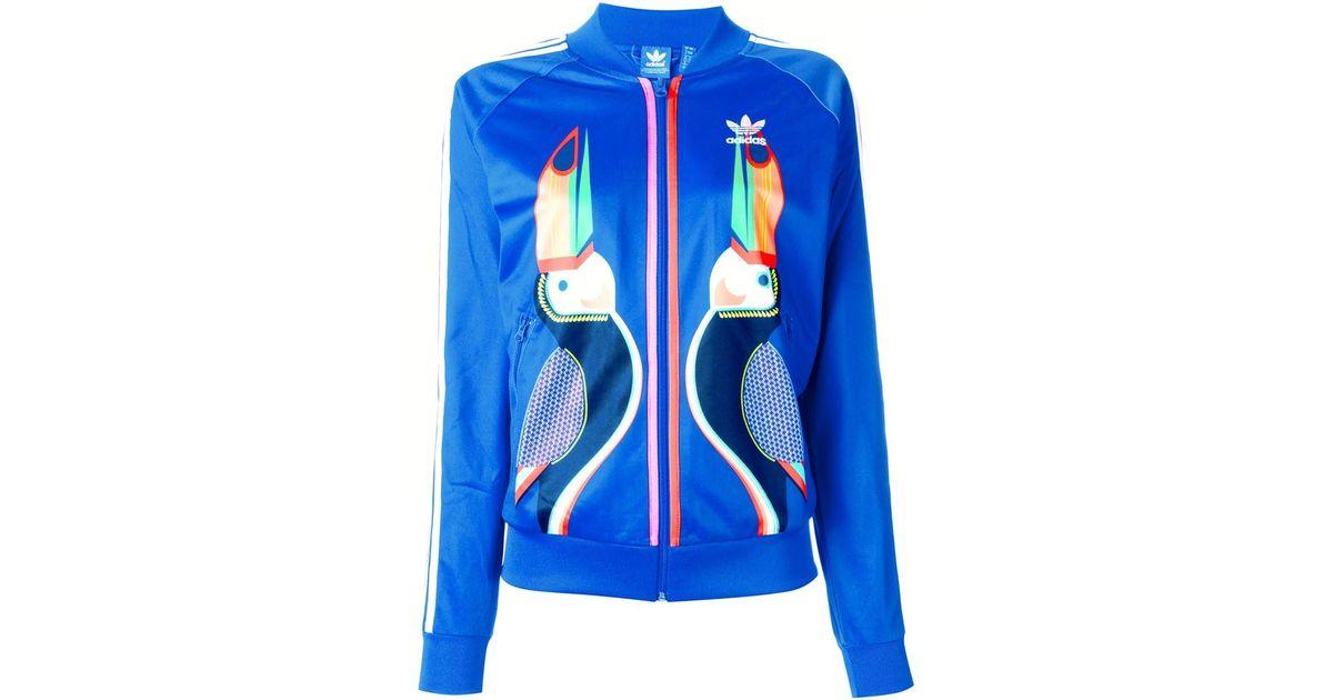 71446c659400 Lyst - adidas Originals Toucan Print Sweatshirt