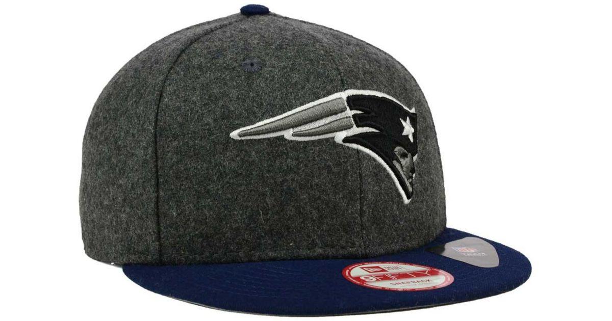 f9b3eb271d5 Lyst - KTZ New England Patriots Shader Melt 9fifty Snapback Cap in Blue for  Men