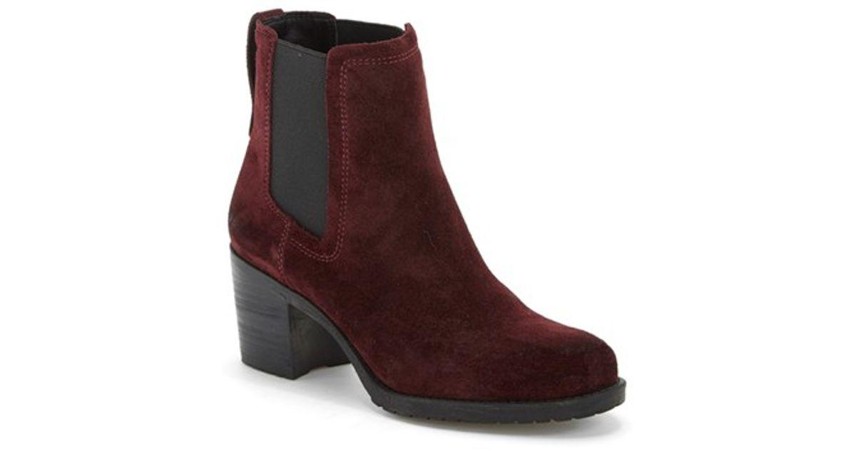 8cb1eeeb249 Lyst - Sam Edelman  Hanley  Chelsea Boot in Purple