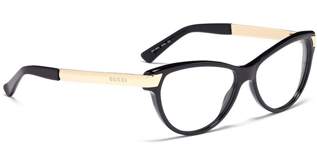 3ae286ce2da7c Gucci Cat-eye Optical Glasses in Pink - Lyst