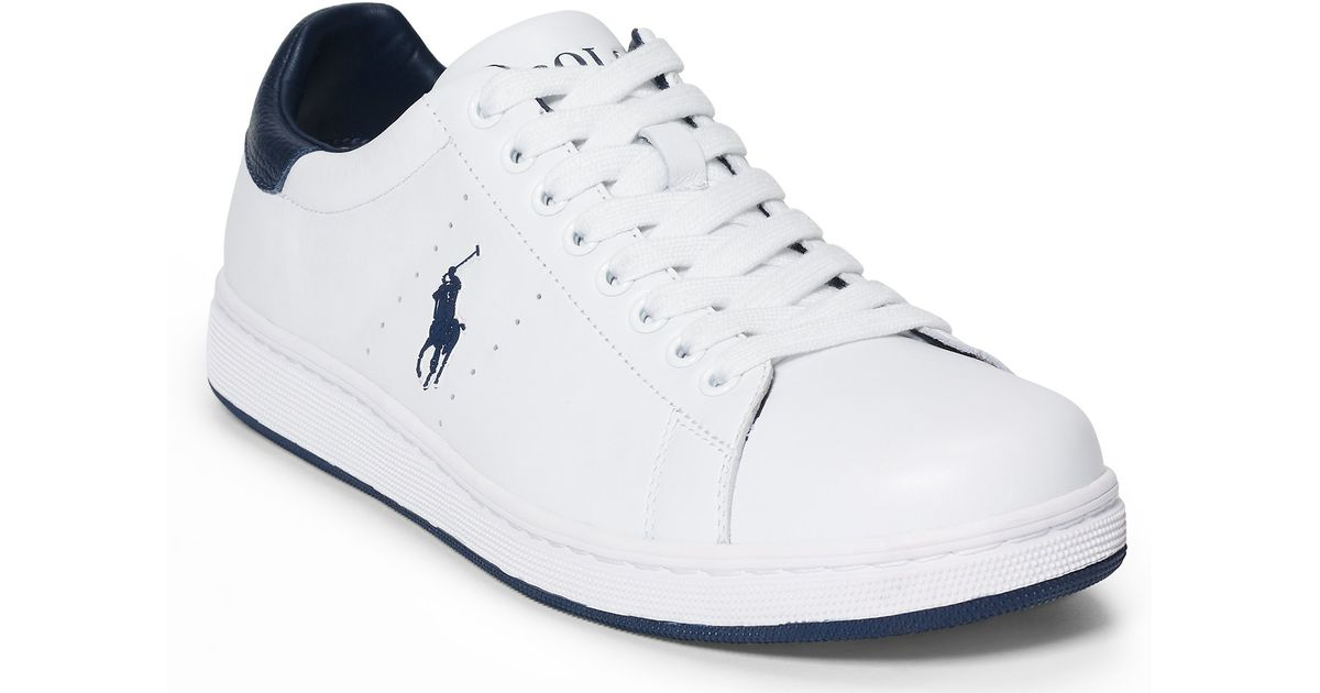 Polo Ralph Lauren White Shoes
