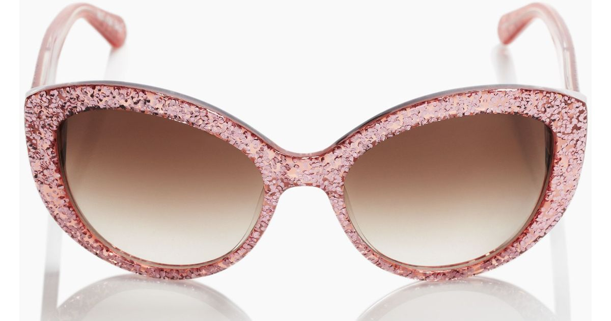Image result for kate spade glitter sunglasses