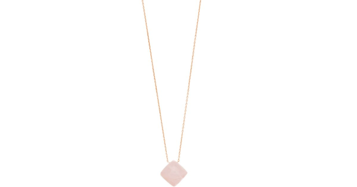 gold with grande quartz products mavrik necklace diamond pink pendant jewelry rose karat